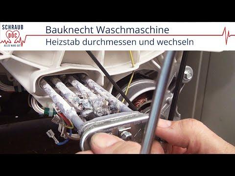 Reparaturanleitung Bauknecht Waschmaschine - Heizstab wechseln