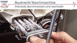 Reparaturanleitung Bauknecht Waschmaschine   Heizstab Wechseln