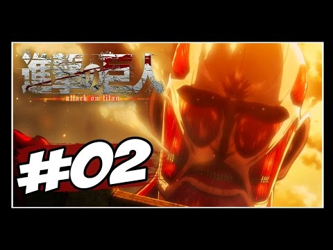 Attack On Titan PS4 - Story Mode #2 - Titan Colossal Boss Battle [PT-BR]
