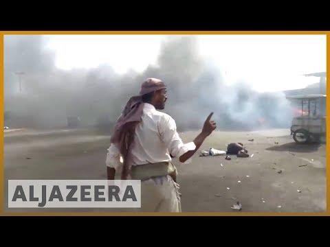 🇾🇪 Yemen's Houthis say Saudi-Emirati led coalition kills 15 people | Al Jazeera English