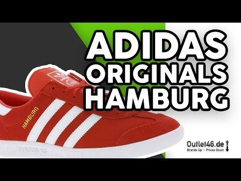 Adidas Hamburg Retro Sneaker Herren