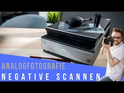 NEGATIVE SCANNEN I Film scannen mit Epson V800 Filmscanner