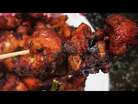 Chicken Kalimirich Kabab | kalimiri marinated chicken kabab (AALEEN KHAN RECIPES)