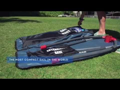 2015 Starboard WindSUP Compact Sail – Action Video