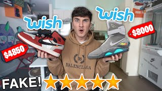 I Bought The Most Expensive Sneakers On Wish.com!