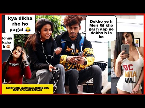 Fake Funny Language #3 + Asking Girl You Know M\a Kh@lifa || Epic Reactions || Sahil Khan Production