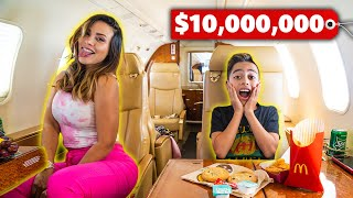 SURPRISING My FAMILY With a PRIVATE JET! **Dream Come True** | The Royalty Family