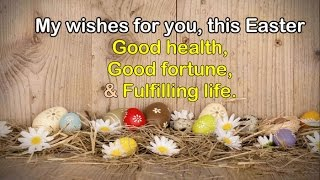 Wishing You Happy Easter || Easter Wishes 2019