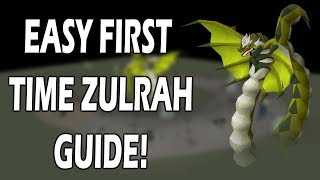 Easy ZULRAH GUIDE For FIRST TIMERS   The Only Guide You'll Ever Need
