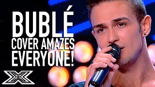 INCREDIBLE Bublé Cover Has Everyone 'Lost' In The Moment   X Factor Global