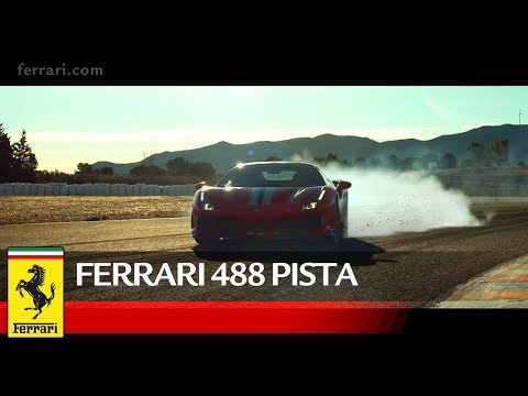 Ferrari 488 Pista – Official Video