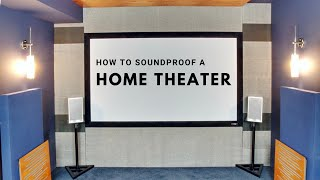 How I'm Soundproofing my new Home Theater using Hushframe isolators