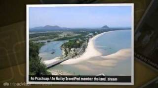 preview picture of video 'The town of 3 bays Thailand_dream's photos around Prachuap Khiri Khan, Thailand (dan singkhon)'