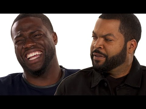 Kevin Hart & Ice Cube Take The BFF Test (видео)
