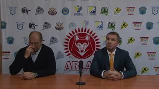 Пресс-конференция «Арлан» -«Темиртау»