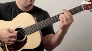 Guitar Lesson: How To Play John Newman - Love Me Again On Acoustic