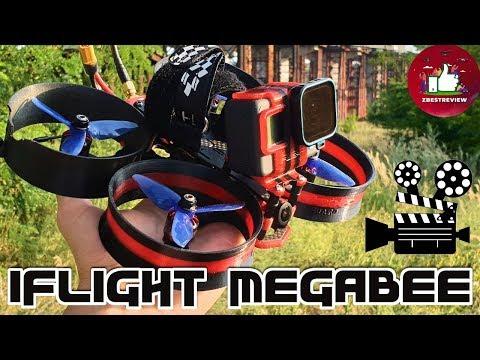 ✔ FPV Квадрокоптер iFlight MegaBee - Революция в Аэросъемке! Шах и Мат DJI!