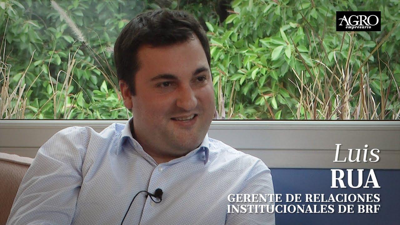 Luis Rua - Gerente de Relaciones Institucionales de Brf
