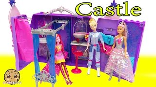Queen Elsa Goes To Star Light Adventure Movie Barbie Galactic Castle Playset