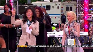 Christina Aguilera   Not Myself Tonight + Interview + Medley The Early Show 11 06 2010   HD 1080i