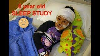 Robot Kid?!?| 6 Year Old Sleep Study