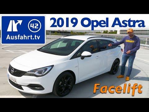 2019 Opel Astra Sports Tourer 1.5 Diesel Facelift - Kaufberatung, Test deutsch, Review, Fahrbericht