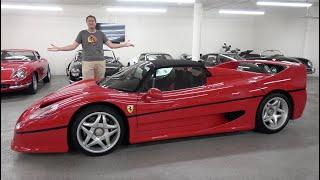 The Ferrari F50 Is a $3 Million Supercar Icon