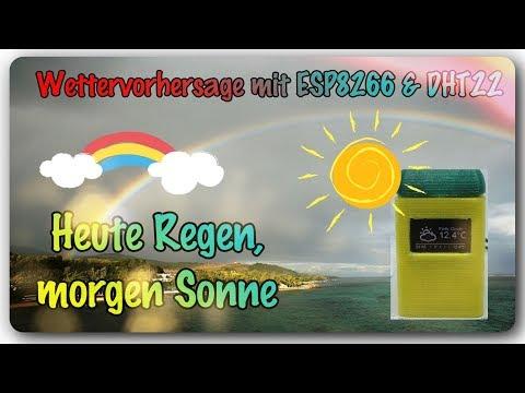 Heute redgen - Morgen Sonne -  weather prediction with an Esp8266