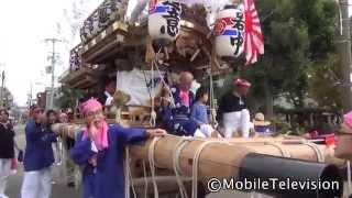尼崎市道意町祭礼