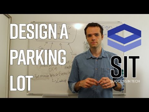 System Design Interview Question: DESIGN A PARKING LOT - asked at Google, Facebook