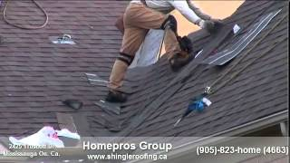 preview picture of video 'Mississauga roofing companies , local roof repair contractors serving Ont, Can.'