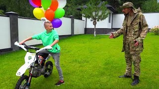 УГРОБИЛ новый Пит-БАЙК! 🔨 Broke a new pit bike...