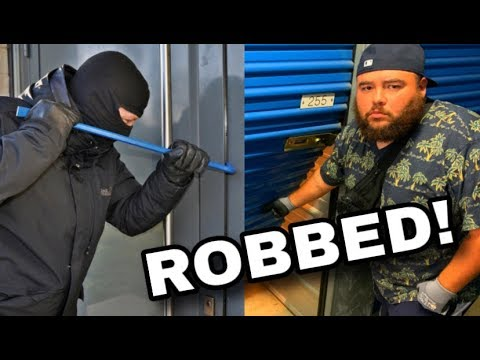 WE GOT BURGLARIZED!!! THEY TOOK IT ALL!! I BOUGHT AN ABANDONED STORAGE UNIT