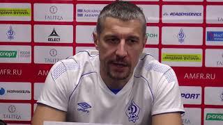 Максим Горбунов - Суперлига. 11 тур. Динамо-Самара - Синара. 3-5 - первый матч