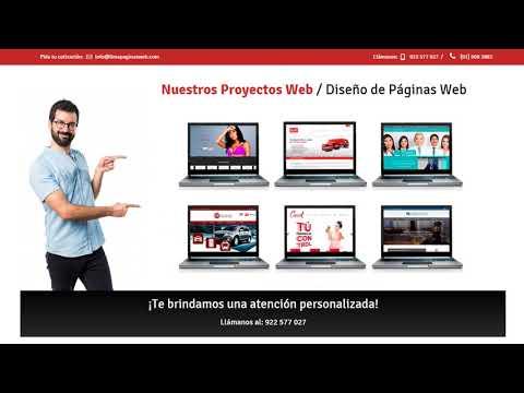 Diseño de Páginas Web - Lima Paginas Web