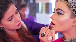 Anurag Makeup Mantra,,, Topaz Reception Hair Style & Makeup  10 Days Hair Style Diploma Full Course