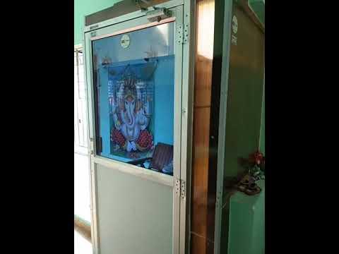 Motorized Vertical Lift Indoor