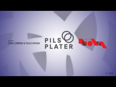 Paulo Arruda & Chris Carrera at Pils & Plater Radio Show – Radio Nova – Oslo – Norway