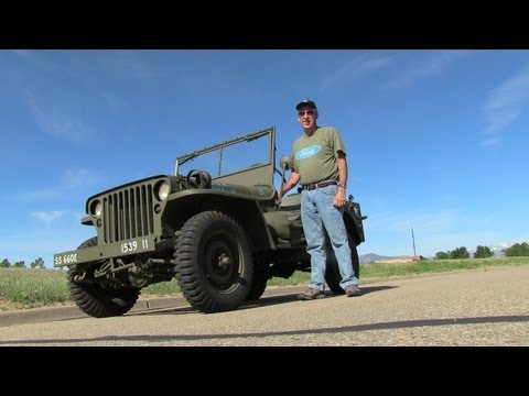 1942 Ford World War II Military Jeep Video