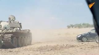 Pierwsze kadry po wyzwoleniu Chan-Szejkun, największej bazy terrorystów na południu Syrii