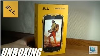 Unboxing: E&L W5 - Rugged Waterproof Android Smartphone