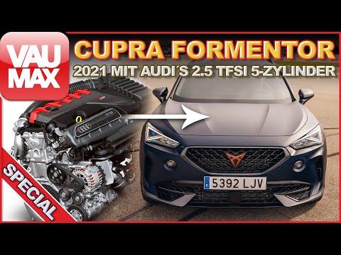 5-Zylinder im Cupra Formentor | JA! Er bekommt den 2.5 TFSI des Audi RS3