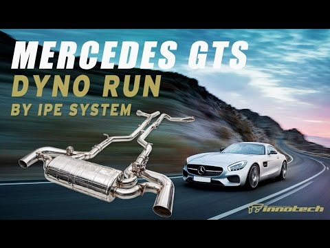 iPE Mercedes-AMG GTS Titanium exhaust on dyno