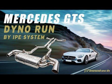 iPE Mercedes-AMG GTS Titanium exhaust on dyno