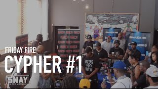 Friday Fire Cypher: PT. 1 of Our Detroit Freestyles