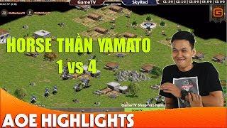 AoE Highlight | Chim Sẻ Đi Nắng cầm Ya gánh cả team cân bản đồ.