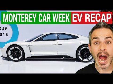 Amazing Electric Cars At The Monterey Car Week 2018