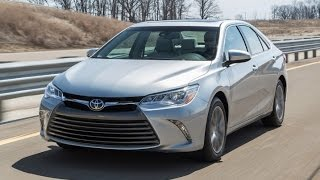 2016 Toyota Camry Start Up, Road Test, and Review 2.5 L 4-Cylinder