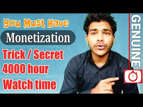 100% working | 4000 Hours Watch Time in 1 month | Save Your Channel Monetization | 7 Genuine Tips