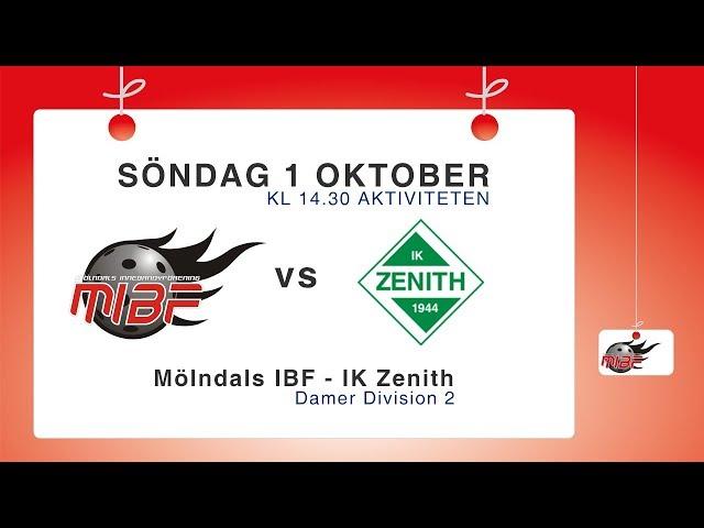 D2: Mölndals IBF – IK Zenith